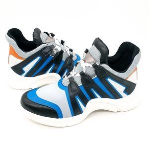 Linea Paolo Rayne Chunky Heel Sneakers Multi Color